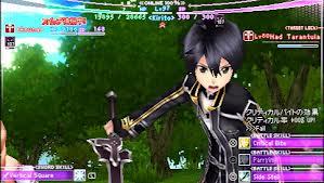 sword art online PSP screenshot