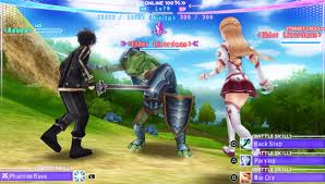 sword art online PSP screenshot